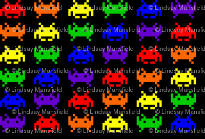 Retro Space Invaders - 1