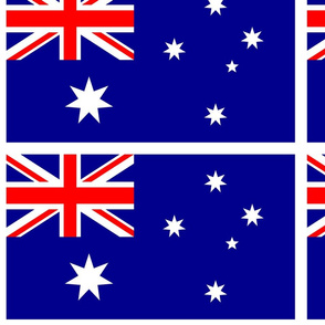 Australian Flag (with border)