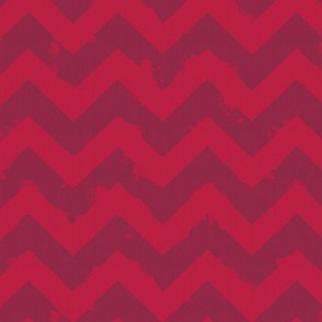 Ombre Watercolor Chevron-red