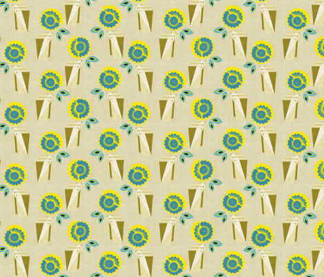 Lemonade fabric by kirpa on Spoonflower - custom fabric