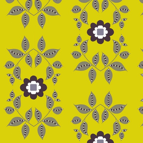 midsummer motif / yellow