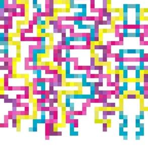 Neon Pixels