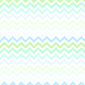 blue green ombre chevron