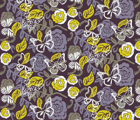 Fairy Garden fabric by graceful on Spoonflower - custom fabric