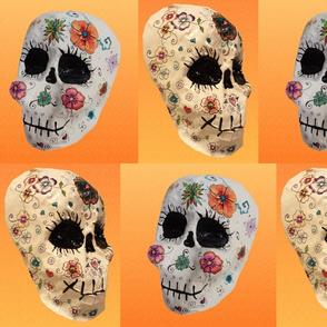Papier Mache Skulls