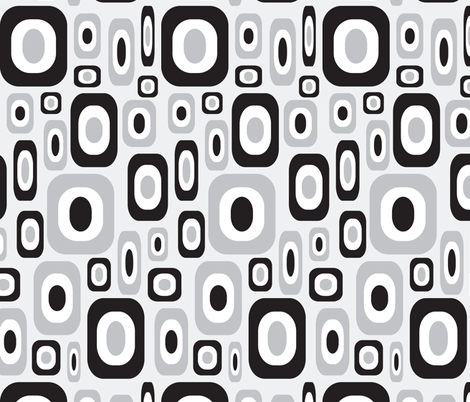 Achromatically Mod fabric by jjtrends on Spoonflower - custom fabric