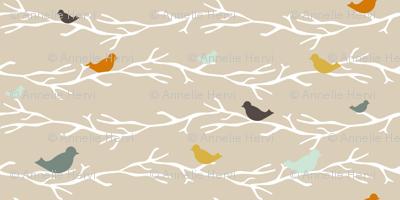 custom Treetop Blue Birds