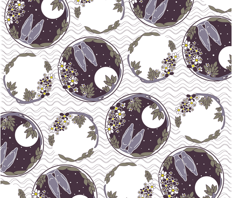 Midsummer_Dream fabric by yazooky on Spoonflower - custom fabric