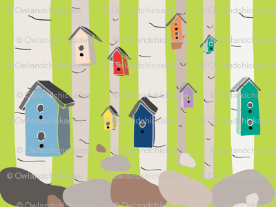 Birdhouse Forest