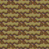 watercourse - dark stripes - large