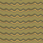 muddy stripes, wide - large