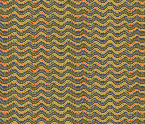 muddy stripes - narrow fabric by wiccked on Spoonflower - custom fabric