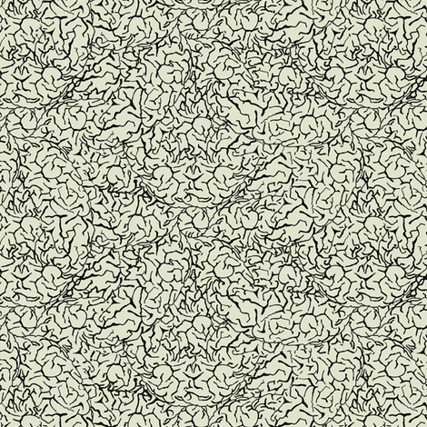 brain surface#2 fabric by susiprint on Spoonflower - custom fabric
