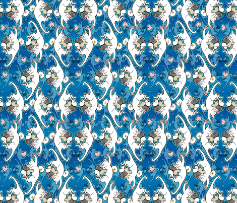 Kitten Cam Kitties fabric by hannafate on Spoonflower - custom fabric