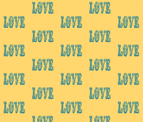 Summer Love fabric by campbellcreative on Spoonflower - custom fabric