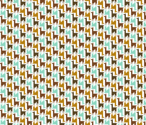 llama-rama! fabric by nadiahassan on Spoonflower - custom fabric