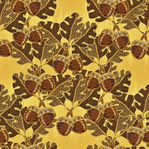 embroidered_oak_and_acorns golden oak