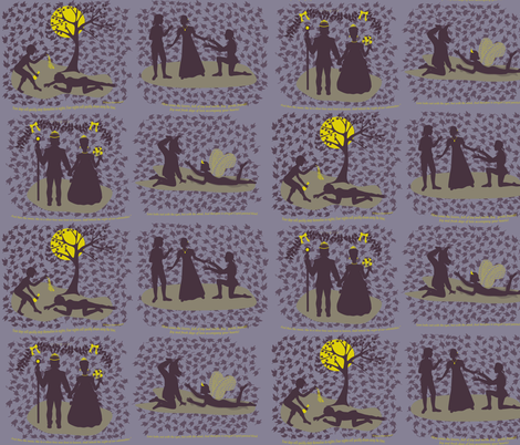 dream fabric by roxiespeople on Spoonflower - custom fabric