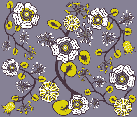 Midsummer Dream VI fabric by merttu on Spoonflower - custom fabric
