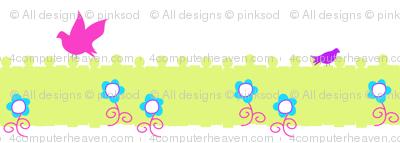 Garden Loiterers - Summer's Call - © PinkSodaPop 4ComputerHeaven.com