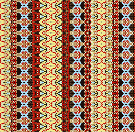 SKCreations Moroccan Mosaic fabric by skcreations,_llc on Spoonflower - custom fabric