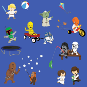 Star Wars Kids - Navy