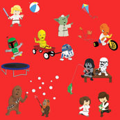Star Wars Kids - Red