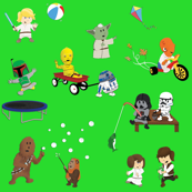 Star Wars Kids - Green