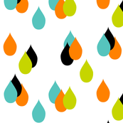 Drop (lime/orange)