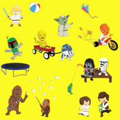 Star Wars Kids - Yellow