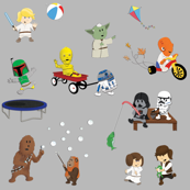 Star Wars Kids - Gray