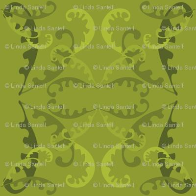 Fern Lattice on Green
