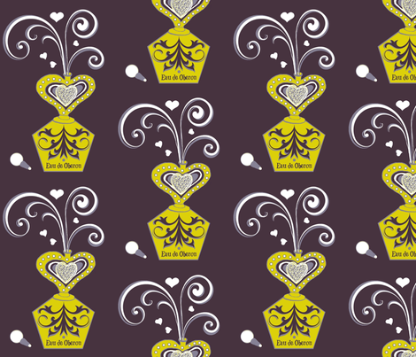 Eau de Oberon dark fabric by paragonstudios on Spoonflower - custom fabric