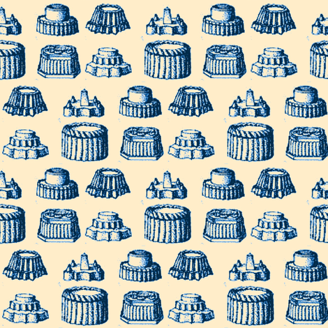 Birthday Jelly fabric by amyvail on Spoonflower - custom fabric