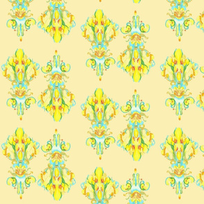 Floral abstract pattern 20120805-10
