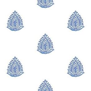 Regency Imperial Leaf Dual Color Periwinkle