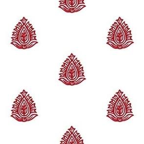 Regency Imperial Leaf Dual Color Ruby
