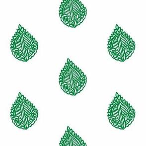 Falling Leaf Emerald
