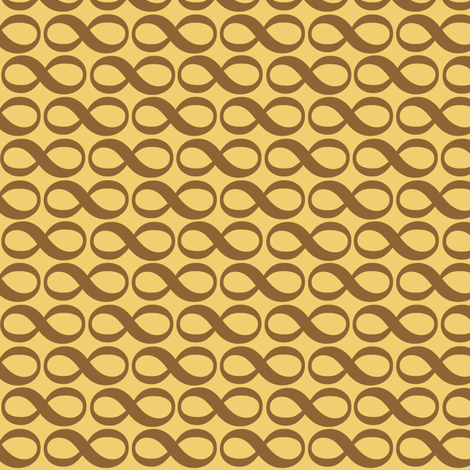 serenity infinity - wheat fabric by weavingmajor on Spoonflower - custom fabric