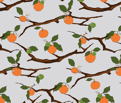 Florida Winter  fabric by audsbodkin on Spoonflower - custom fabric
