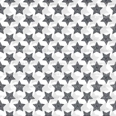 The Binary Shuffle - navy  and gray synergy0012