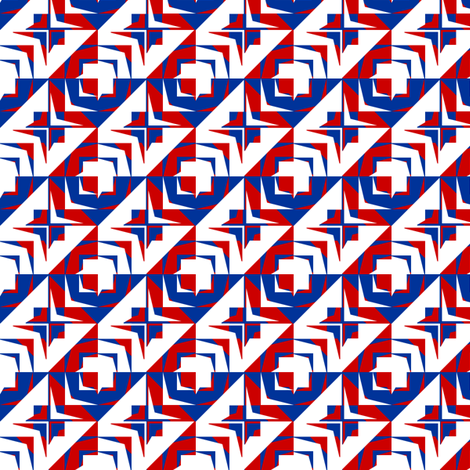 houndstooth  echo u                                                        k_synergy0006_alt3 fabric by glimmericks on Spoonflower - custom fabric