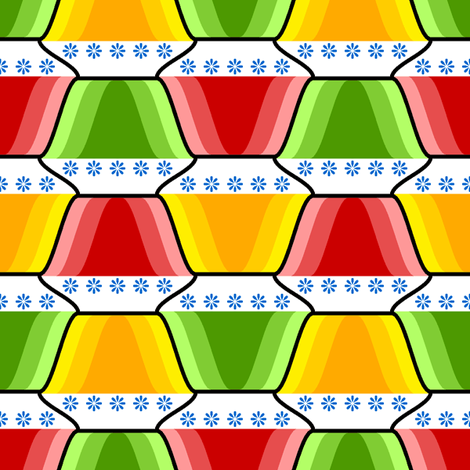 jelly in a bowl fabric by sef on Spoonflower - custom fabric