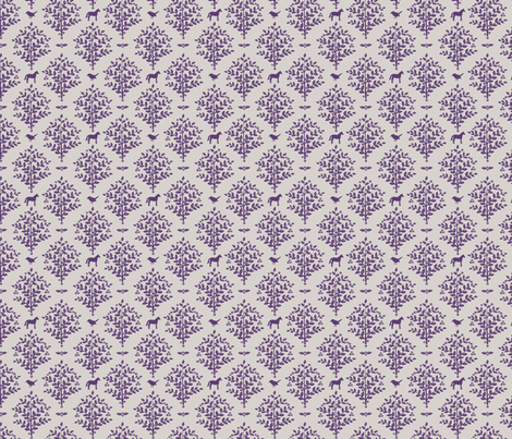 woodland birds and horses fabric by bluemagpie on Spoonflower - custom fabric