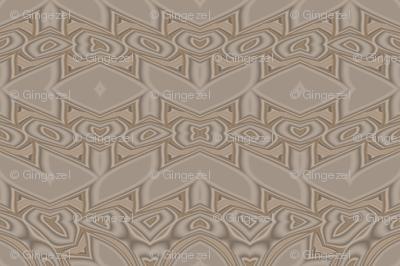 Subtle Overall Beige Pattern © Gingezel™ 2013