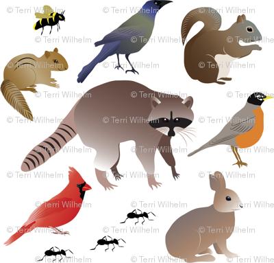 BackyardCreatures-Pattern