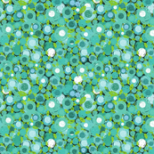 abstract flora pattern