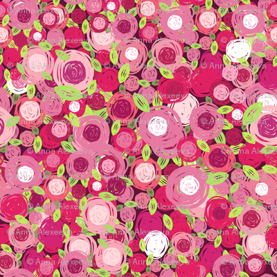 abstract flora pattern 2