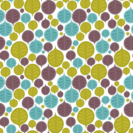 leaf color pattern 2 fabric by kostolom3000 on Spoonflower - custom fabric