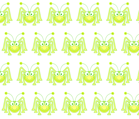 GLOW  BUG fabric by bluevelvet on Spoonflower - custom fabric